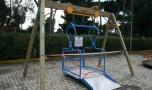 Il parco giochi Casale costruito sul suolo del Capitolo della Cattedrale. Di Aldo Indini