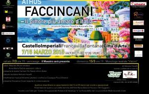 A Palazzo Imperiali la mostra di Athos Faccincani