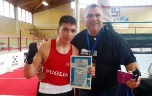 Pugilistica Rodio: Pietro Nostro è campione italiano cat. esordienti