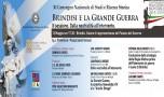 """XI Convegno di Studi """"Brindisi e la Grande Guerra"""", mercoledì 13 II sessione: """"Dalla neutralità all'intervento"""""""