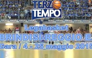 Terzo tempo web: il video di gara4 Brindisi-Reggio Emilia