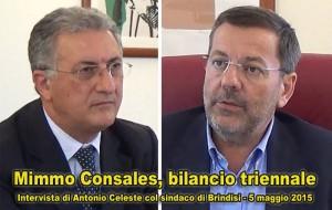 Face to face: il bilancio triennale del Sindaco Consales. Video intervista di Antonio Celeste