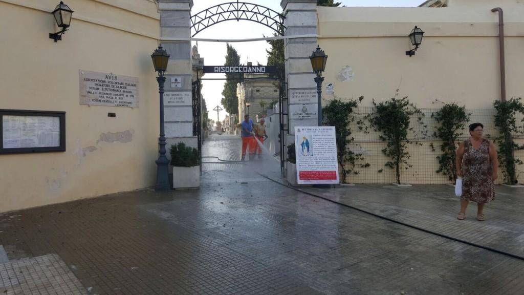 Commemorazione defunti i servizi aggiuntivi della stp nei for Nuovo arredo francavilla fontana