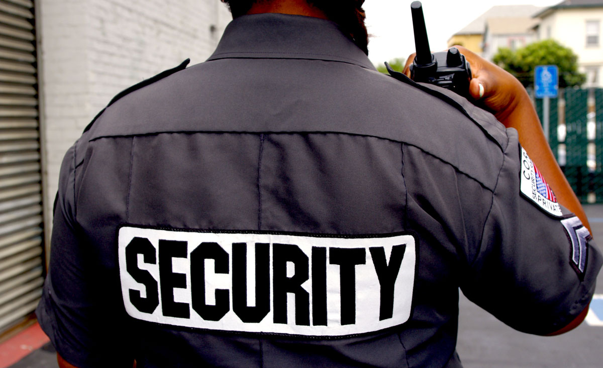You Can Use the Professional Security Services Which May Have an Armed Guard
