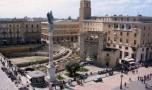 Risolto il mistero: la Colonna Romana di Lecce è più piccola perché è stata rotolata per terra