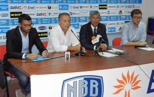 Speciale Terzo Tempo Web: il video della prima conferenza stampa stagionale dell'Enel Basket Brindisi
