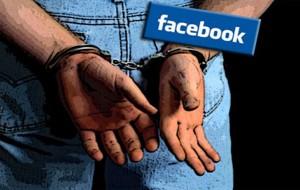 Nonostate l'arresto ed il divieto di comunicazione telematica pubblica post diffamatori sul profilo facebook: denunciato