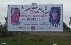 Domenica serata di boxe al Palasport di San Pietro