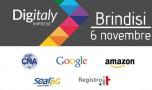 Digitaly: il 6 novembre a Brindisi il progetto di CNA, Amazon, Google, Seat Pagine Gialle e Registro.it