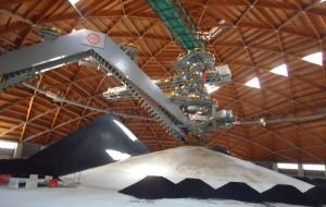 """Enel annuncia: """"primo dome in esercizio, il carbone è totalmente stoccato nel carbonile coperto"""""""