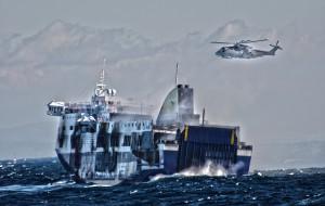 Il soccorso del Norman Atlantic nel Calendario della Marina Militare 2016