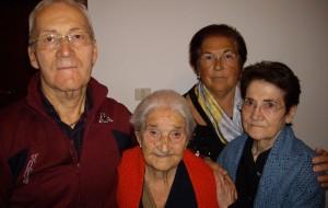 Nonna Lucia compie 105 anni. Auguri!!!