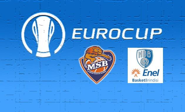 L'Enel Brindisi perde in Francia e saluta l'Eurocup