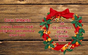 Sabato 28 apre i battenti il Mercatino di Natale di Brindisi
