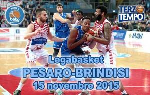 Terzo tempo web: il video di Pesaro-Brindisi