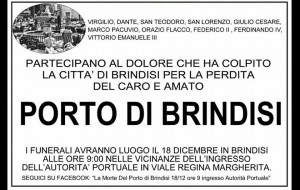 """Monta la protesta: venerdì marcia silenziosa per """"la morte del Porto di Brindisi"""""""