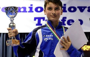 Pietro Rinaldi conquista il podio a Terni