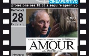 """Cinecronici: torna con """"Amour"""" il CineAperitivo della domenica"""