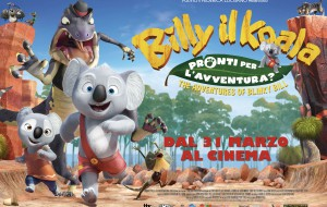 Billy il Koala arriva all'Andromeda di Brindisi