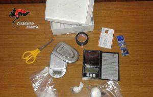 15 grammi di cocaina nel cassetto del comodino: arrestato 42enne