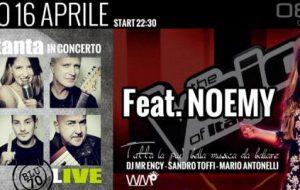 Space 0831: Noemy Castagnanova alla festa Made in Brindisi