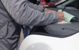 Blitz contro i parcheggiatori abusivi: in arrivo il Daspo Urbano per cinque persone