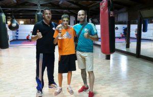 Il giovane Dovizioso ai campionati europei Schoolboys di Zagabria