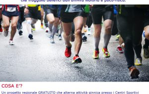 """""""Sport in cammino"""" ha chiuso il primo periodo di attività. La visita del sindaco agli """"atleti"""" over 65 e 18-64enni con piccole patologie."""