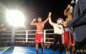 Seconda vittoria da professionista per il pugile brindisino Luca Capuano