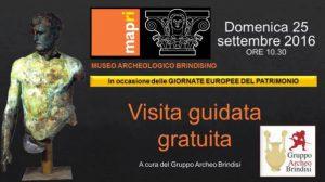 Giornate Europee del Patrimonio: apertura straordinaria del MAPRI