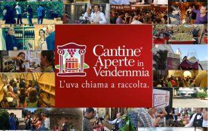 """Domenica 25 settembre torna """"Cantine Aperte in Vendemmia"""""""