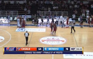 Torneo di Casale Monferrato: Brindisi batte i padroni di casa. Il video integrale del match