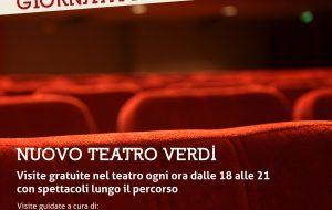 Teatri Aperti il 22 Ottobre: il Verdi aderisce con un programma di visite-spettacolo gratuite