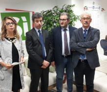 """Il ministro della Giustizia Andrea Orlando in visita al """"Comitato BrindiSi può"""""""