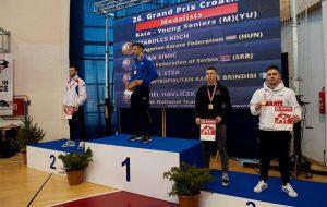 """Buona esperienza per gli atleti della Metropolitan Karate Brindisi al """"26° Grand Prix Croatia"""""""