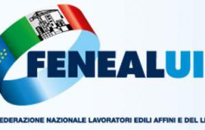 """FENEAL UIL: """"massima attenzione al settore edile"""""""