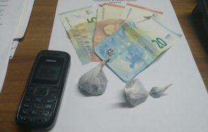 In auto con 20 grammi di eroina allo stato puro: un arresto ed una denuncia