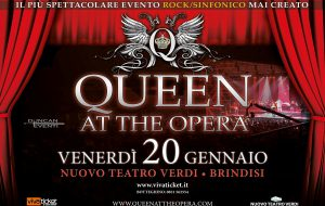 Queen at the Opera: a Brindisi il più suggestivo e spettacolare evento Rock/Sinfonico mai portato in scena
