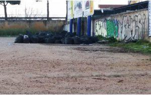"""Rifiuti abbandonati vicino al seminario arcivescovile, Azione Nazionale: """"ma Sindaco, (ex) assessori e consiglieri non girano per la città?"""""""