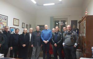 Il questore Masciopinto incontra il gruppo dirigente della UIL