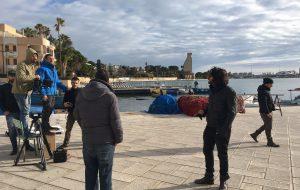 Albano gira a Brindisi il video del brano che porterà al Festival di Sanremo