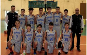 L'Aurora Brindisi Under 14 vince la Caroli Hotels Basketball Cup 2017