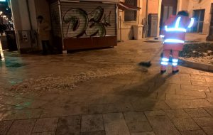 Emergenza neve: a Brindisi spargisale e spazzaneve pronti a entrare in azione