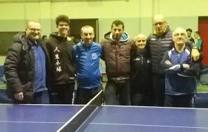 Enel TennisTavolo Brindisi: vittoria in D/1 e sconfitta in D/2