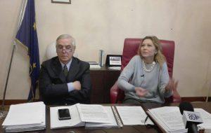 Carluccio ed Errico presentano il nuovo gestore della raccolta rifiuti: è la Ecologia Falzarano Srl di Benevento