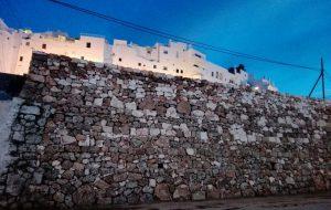 Ricostruito il muro degli orti extra-moenia crollato per l'alluvione del 10 settembre 2016