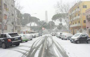 """Emergenza neve, Comune di Brindisi: """"la situazione si sta normalizzando. Non sono previste ulteriori nevicate"""""""