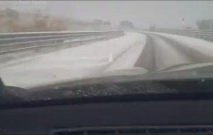 La provincia di Brindisi si sveglia con la neve