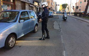 Polizia Municipale attiva sul Lungomare Vespucci ed alle intersezioni semaforiche