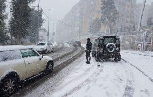 Possibilità di nevicate: divieto di circolazione ai mezzi pesanti su tutte le strade della Provincia fino alle 12.00